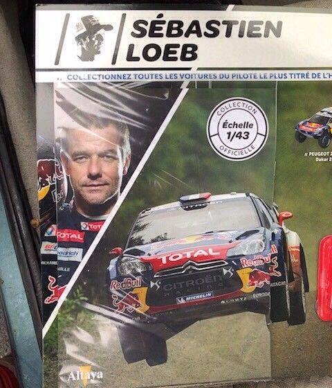 """2018 NOUVEAU > ALTAYA > """"Collection Sébastien Loeb"""" au 1/43  00210"""