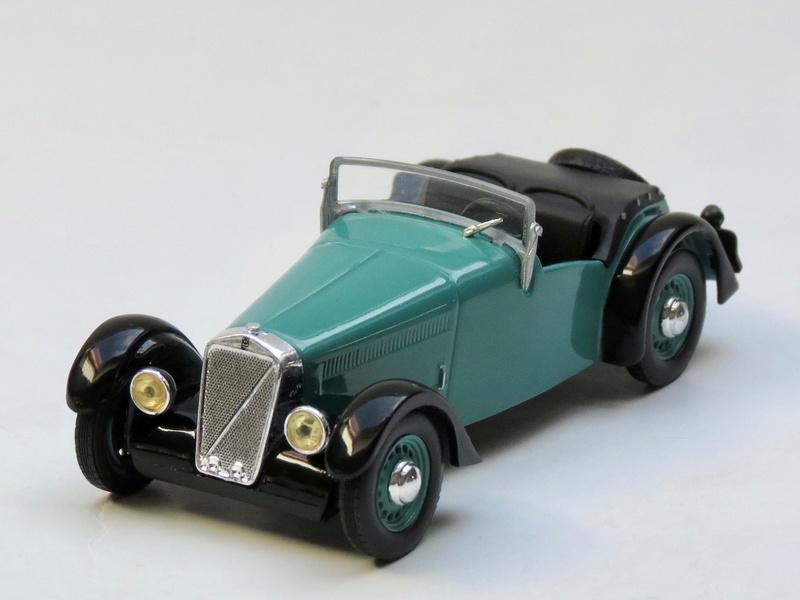 """Georges Irat, roadster """"OC3"""" à moteurs Citroën 1938_r10"""