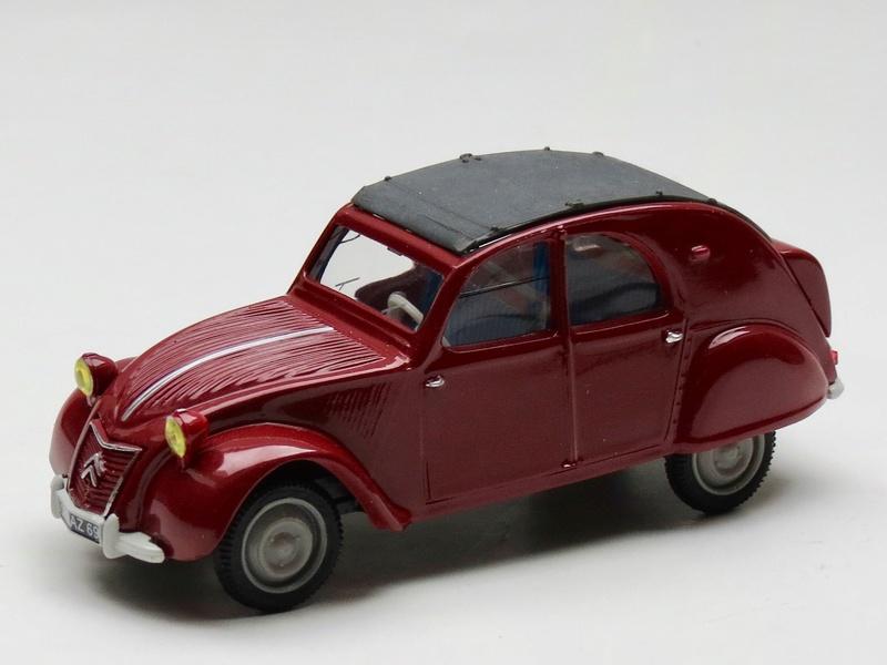 Citroën 2cv - Norev 1/43. 1958_210