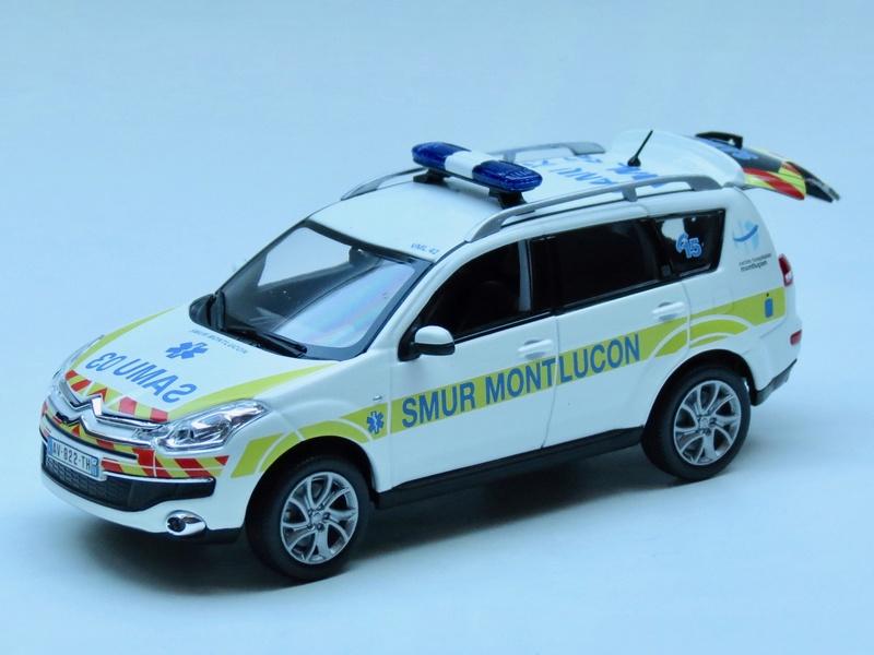 """Citroën miniatures > """"Ambulances, transports de blessés et assistance d'urgence aux victimes"""" 2011_c11"""