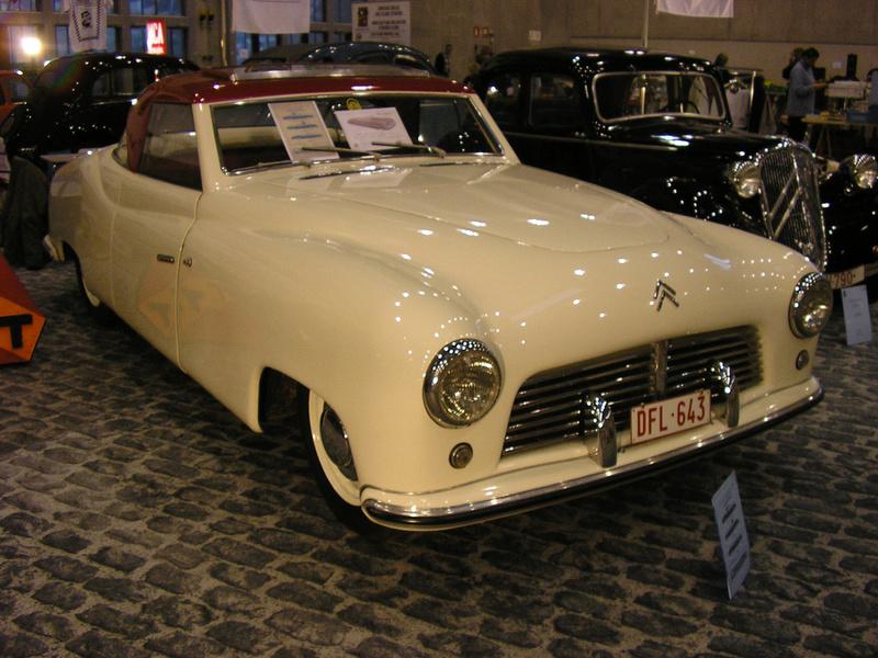 Citroën - Les Traction-Avant Citroën belges T.T.T. 1949 - 1952   51316710
