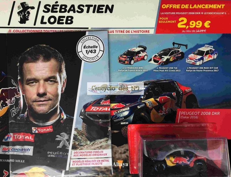 """2018 NOUVEAU > ALTAYA > """"Collection Sébastien Loeb"""" au 1/43  5zcmh310"""