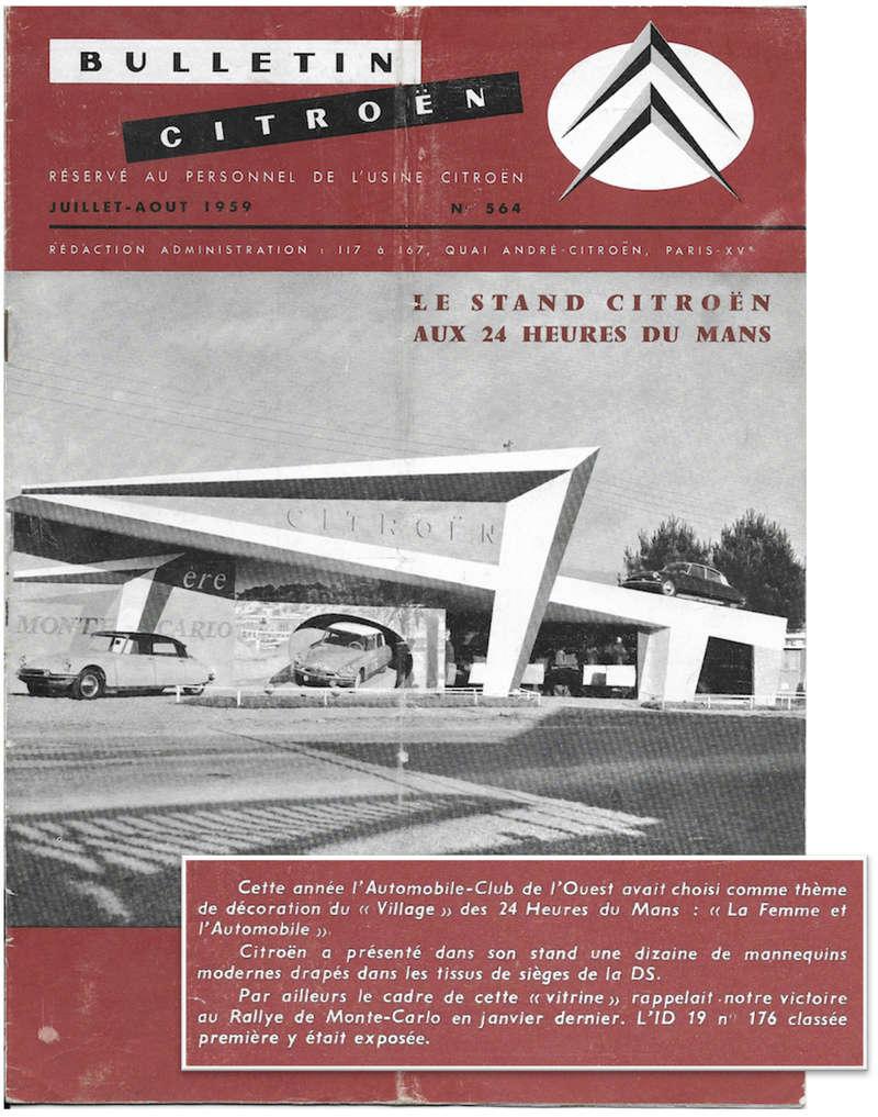 Citroën DS : domaine sportif Bullet11