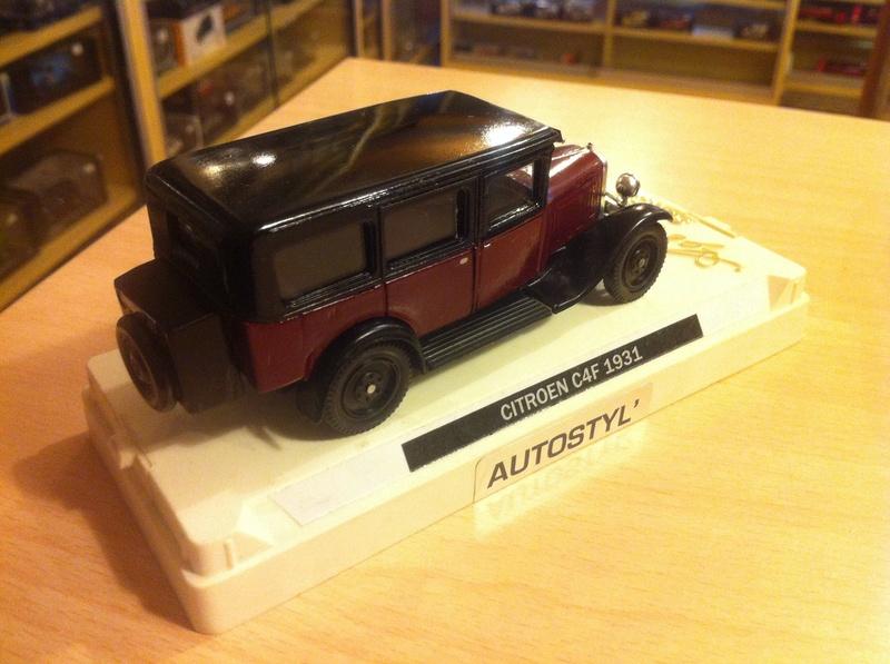 CITROËN et Autostyl Miniatures C4f_vc10