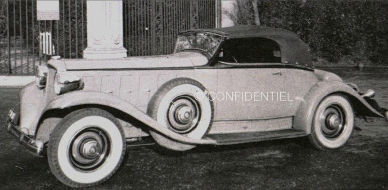 1933 Le speedster 15 CV de Jean Daninos Cabrio10