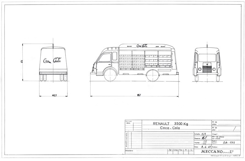 140 plans Dinky Toys Camion11
