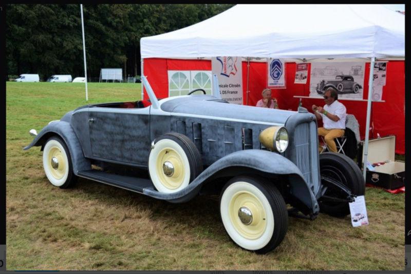 1933 Le speedster 15 CV de Jean Daninos Captur19