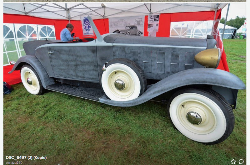 1933 Le speedster 15 CV de Jean Daninos Captur20