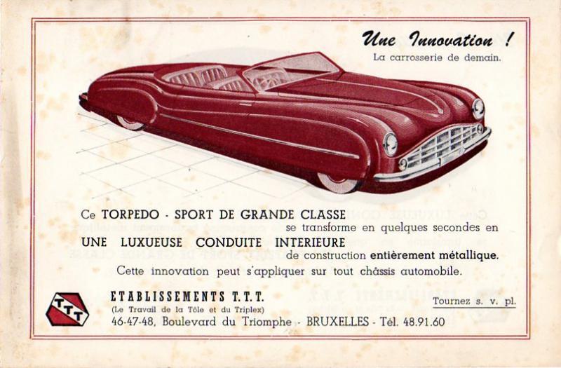 Citroën - Les Traction-Avant Citroën belges T.T.T. 1949 - 1952   Citroe35