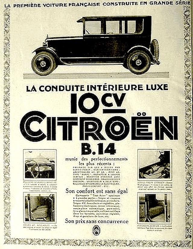 La simple histoire de la Citroën B14 Citroe39