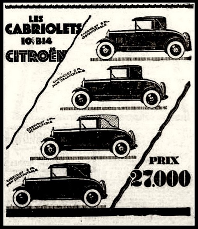 La simple histoire de la Citroën B14 Citroe44