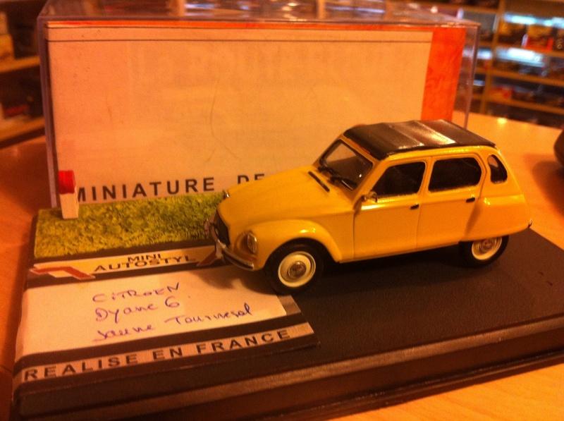 CITROËN et Autostyl Miniatures Dyane_11