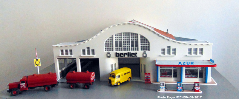Hervé WAGUET Garages et bâtiments divers miniatures au 1/43 Garage10