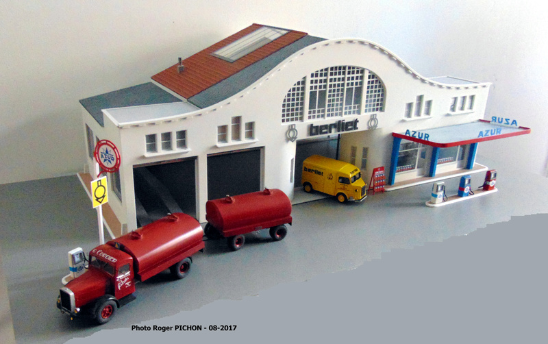 Hervé WAGUET Garages et bâtiments divers miniatures au 1/43 Garage13