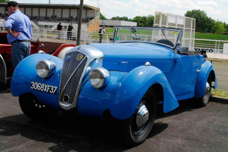 """Georges Irat, roadster """"OC3"""" à moteurs Citroën George10"""