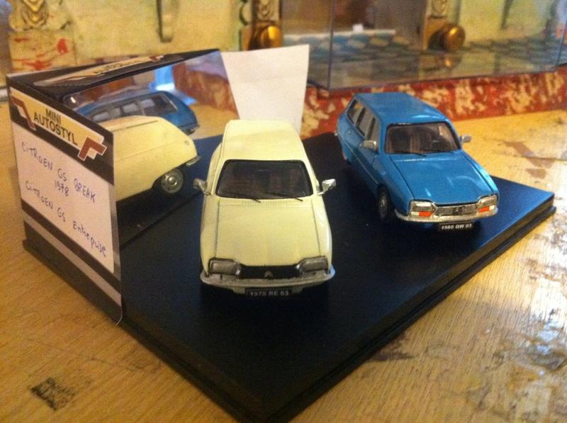 CITROËN et Autostyl Miniatures Gs_0210