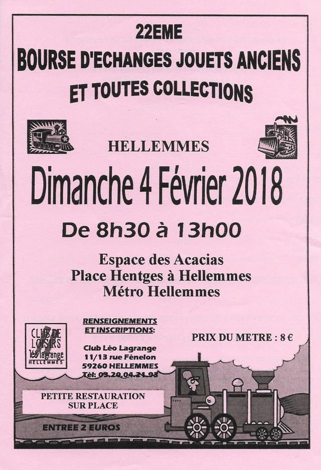 CALENDRIER HEBDOMADAIRE DES BOURSES & EXPOSITIONS 2018 PAR ERIC  Hellem11