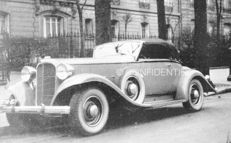 1933 Le speedster 15 CV de Jean Daninos Roadst10