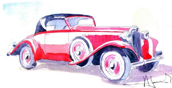1933 Le speedster 15 CV de Jean Daninos Rosali12