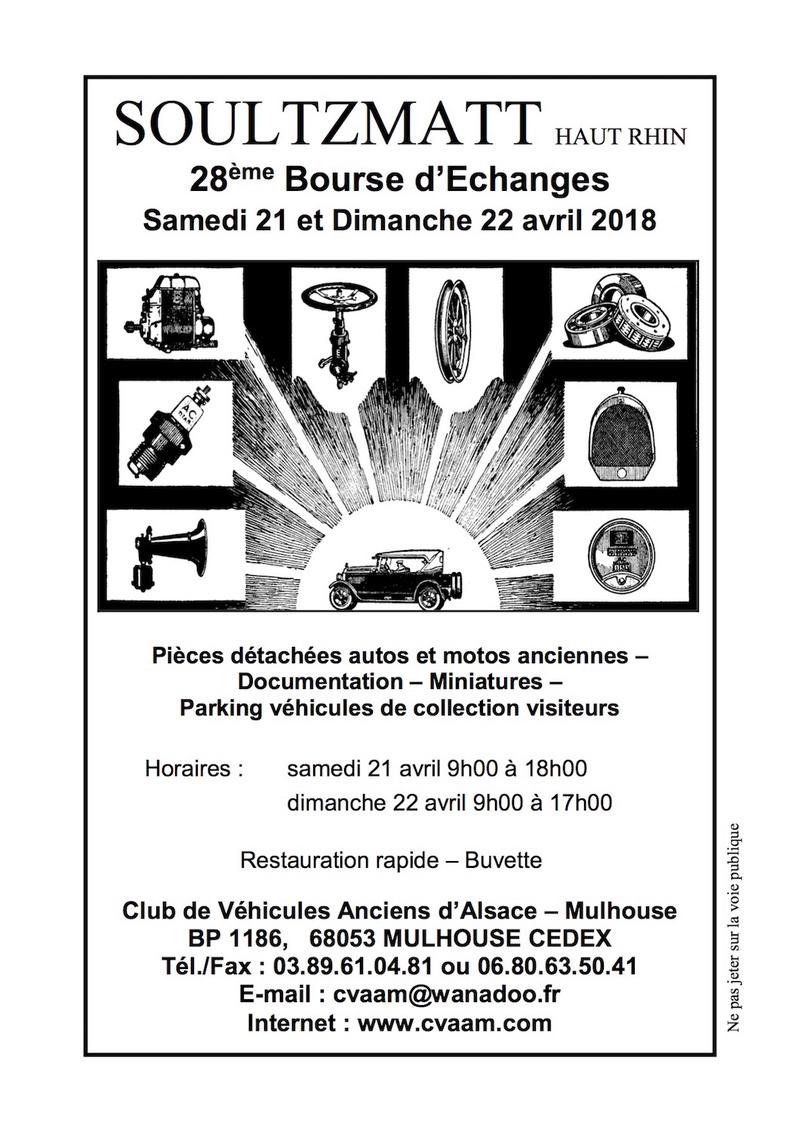 CALENDRIER HEBDOMADAIRE DES BOURSES & EXPOSITIONS 2018 PAR ERIC  Soultz10