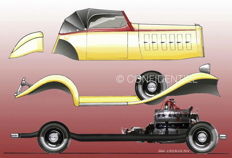 1933 Le speedster 15 CV de Jean Daninos Superp10