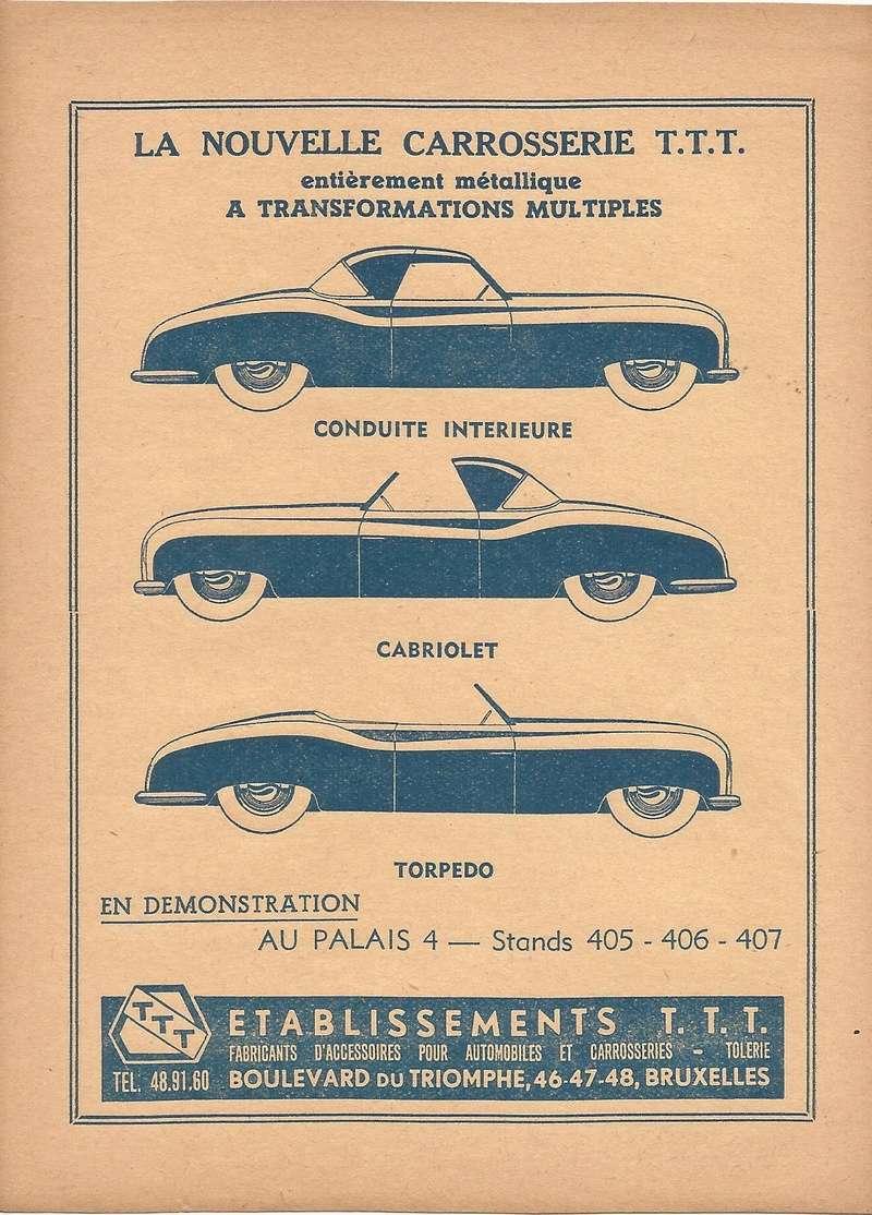 Citroën - Les Traction-Avant Citroën belges T.T.T. 1949 - 1952   Ttt_ta10