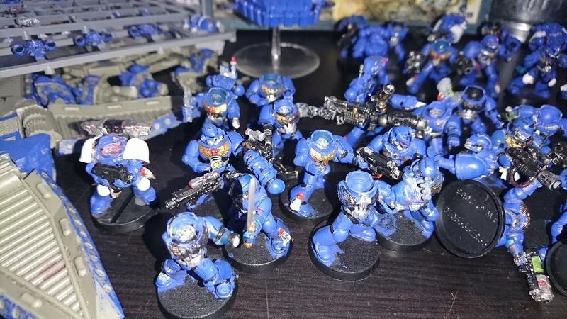 Spaces Marines en vrac en lot 40figs. Dsc_1311