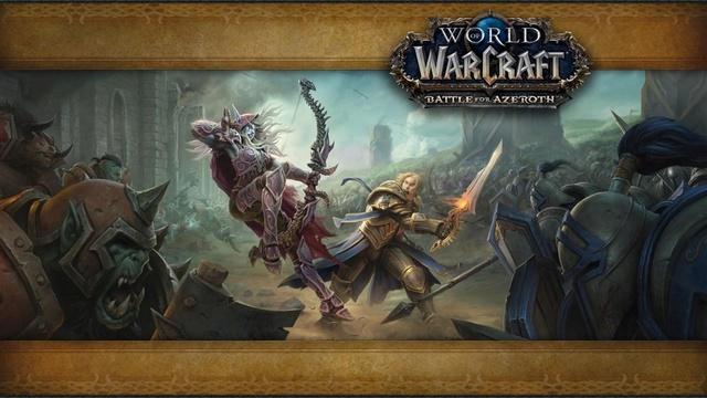 Quelques news, Battle for Azeroth Ecran-10