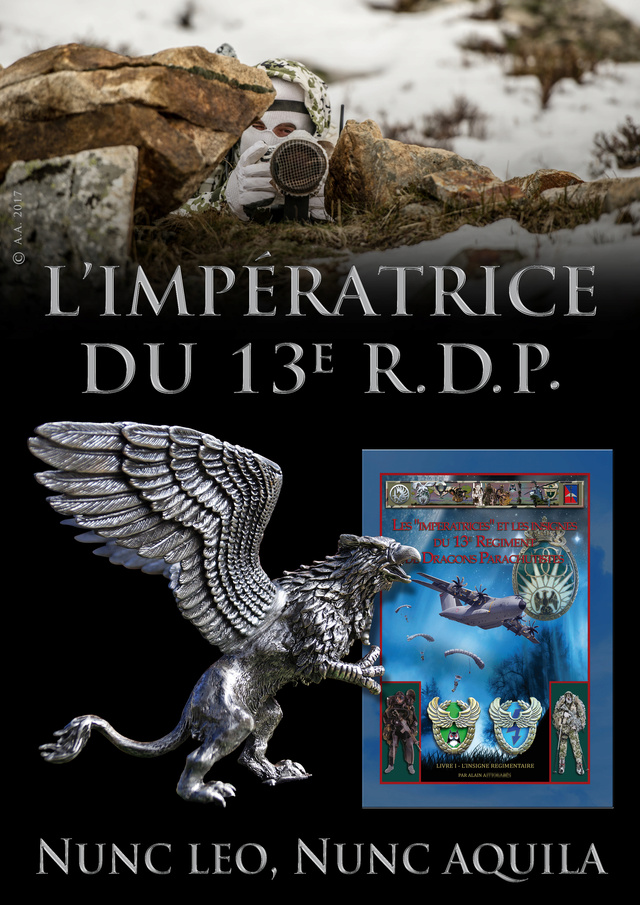 L'INSIGNE REGIMENTAIRE DU 13e RDP Pub_li11