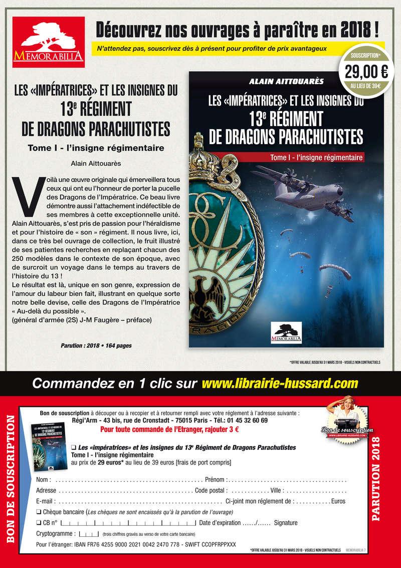 L'INSIGNE REGIMENTAIRE DU 13e RDP Souscr10