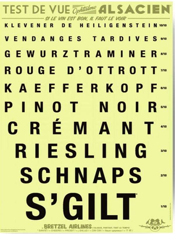 Petit test ( Alsacien ) Poster10
