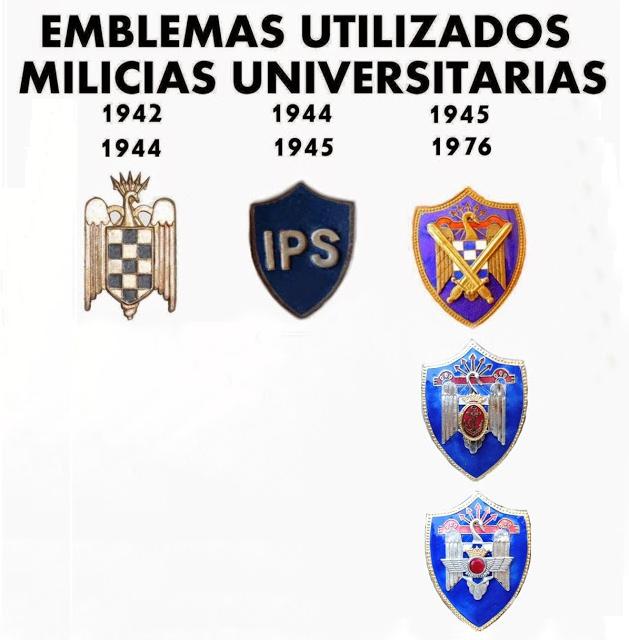 Insigne des Milices universitaires Espagnoles 1945/1976 Milice12