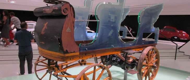 La première voiture de Porsche était électrique ! Porsch10