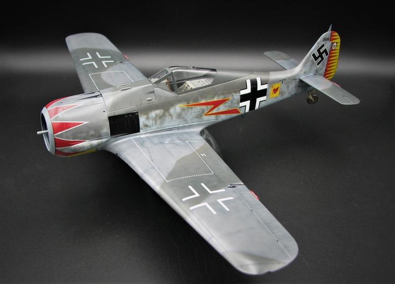fw 190 A5 hasegawa  au 32.....  fini ...!!!! - Page 2 Img_6360