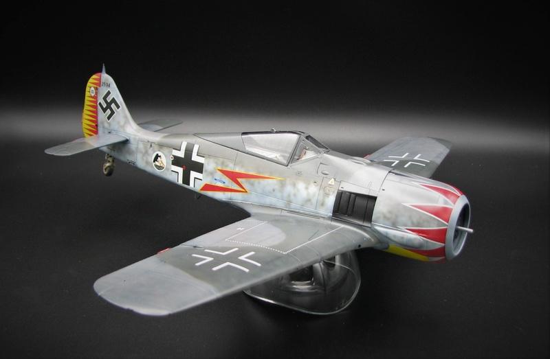 fw 190 A5 hasegawa  au 32.....  fini ...!!!! - Page 2 Img_6410