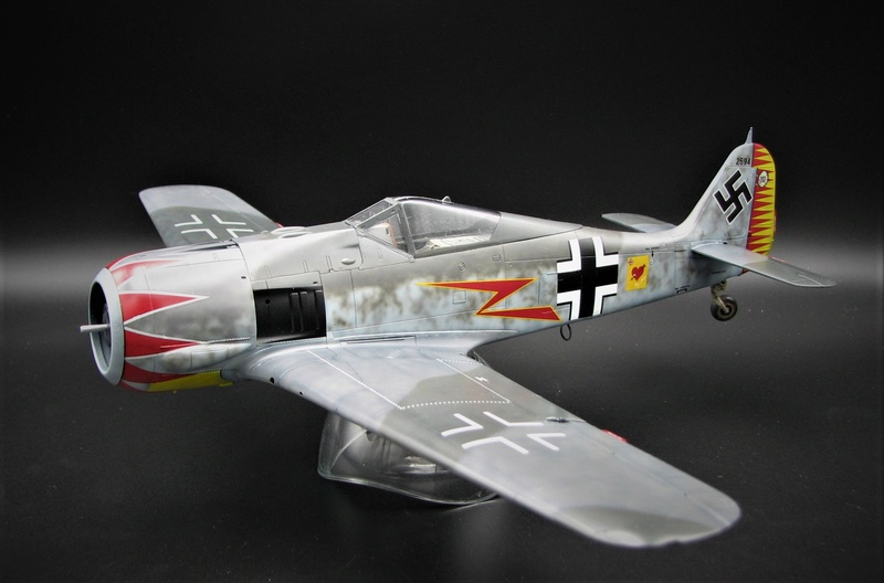 fw 190 A5 hasegawa  au 32.....  fini ...!!!! - Page 2 Img_6411