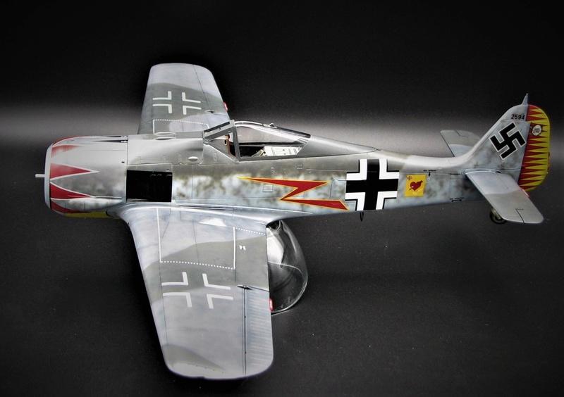 fw 190 A5 hasegawa  au 32.....  fini ...!!!! - Page 2 Img_6412
