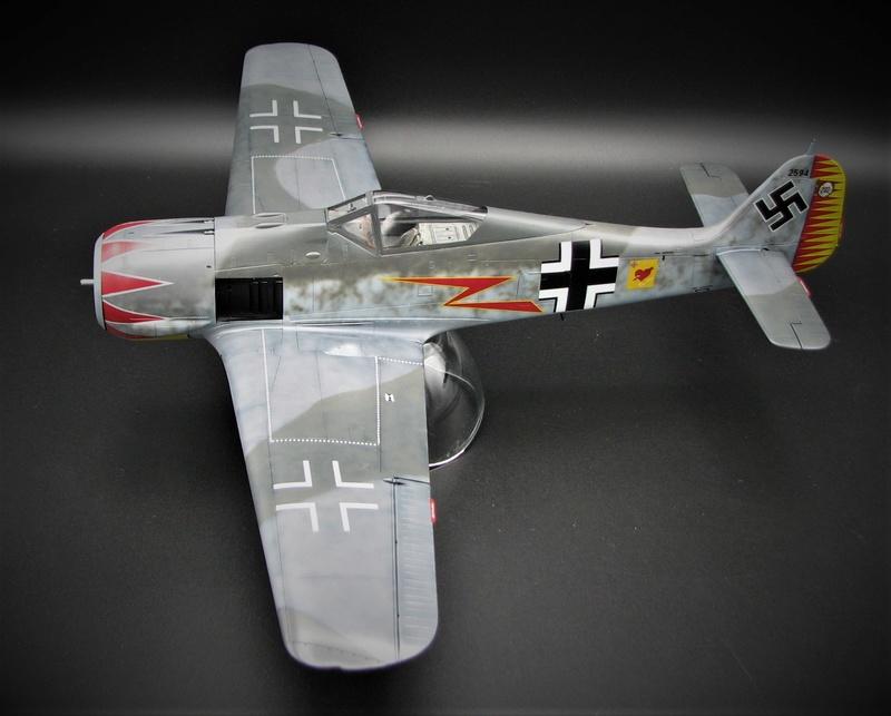 fw 190 A5 hasegawa  au 32.....  fini ...!!!! - Page 2 Img_6415