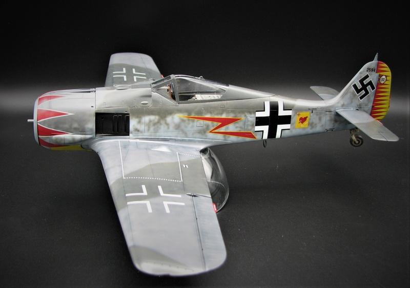 fw 190 A5 hasegawa  au 32.....  fini ...!!!! - Page 2 Img_6416