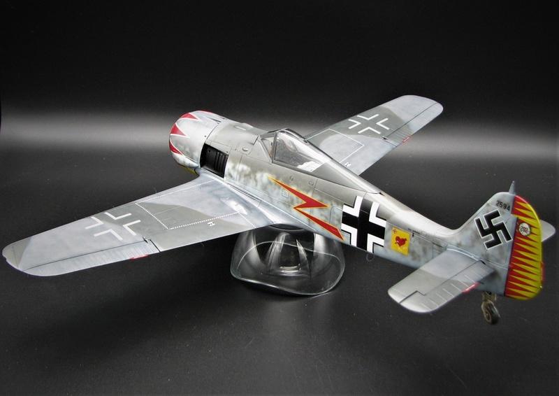 fw 190 A5 hasegawa  au 32.....  fini ...!!!! - Page 2 Img_6417