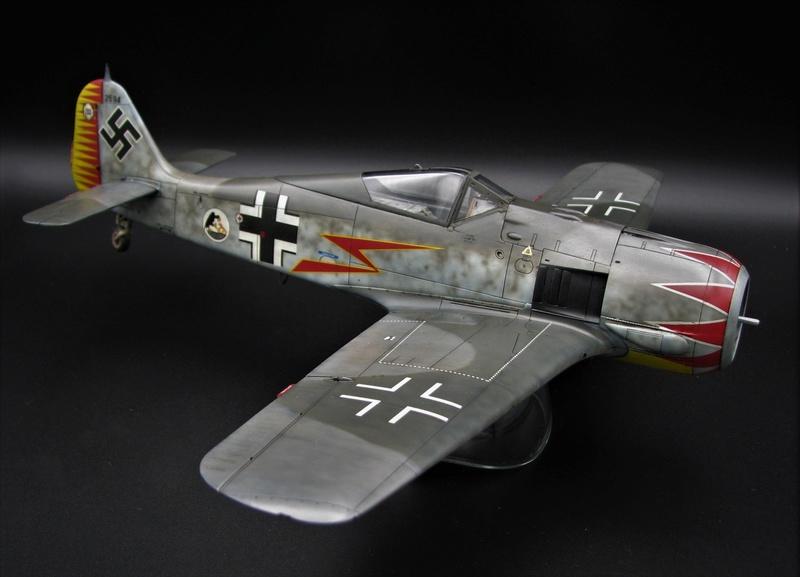 fw 190 A5 hasegawa  au 32.....  fini ...!!!! - Page 2 Img_6418