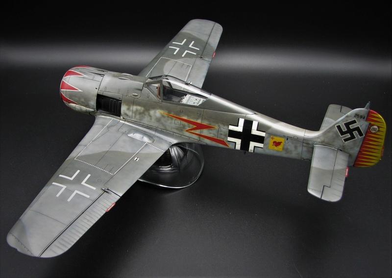 fw 190 A5 hasegawa  au 32.....  fini ...!!!! - Page 2 Img_6420