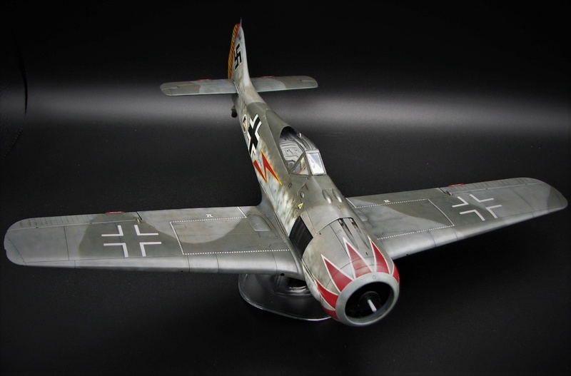 fw 190 A5 hasegawa  au 32.....  fini ...!!!! - Page 2 Img_6422