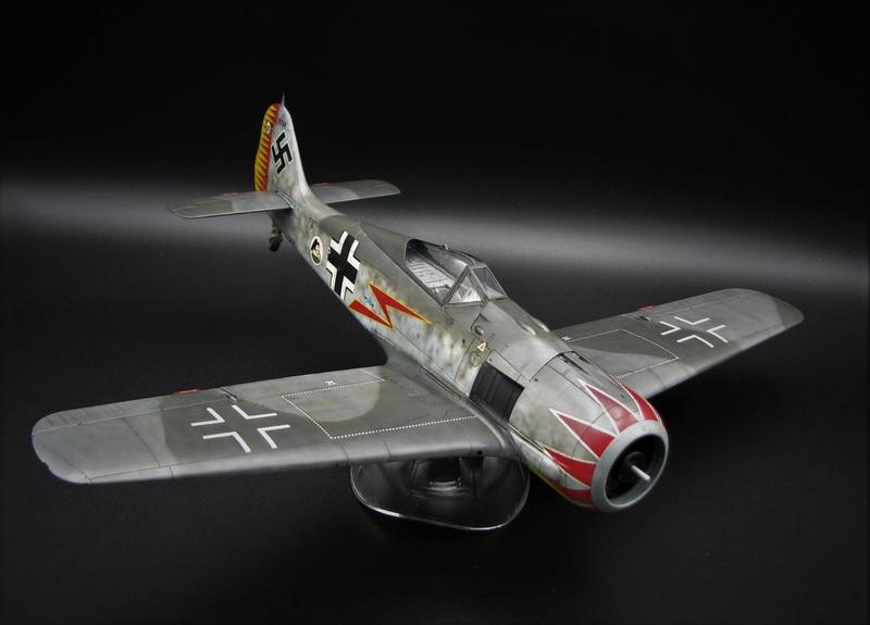 fw 190 A5 hasegawa  au 32.....  fini ...!!!! - Page 2 Img_6424
