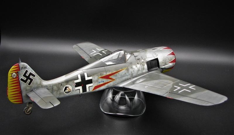 fw 190 A5 hasegawa  au 32.....  fini ...!!!! - Page 2 Img_6426