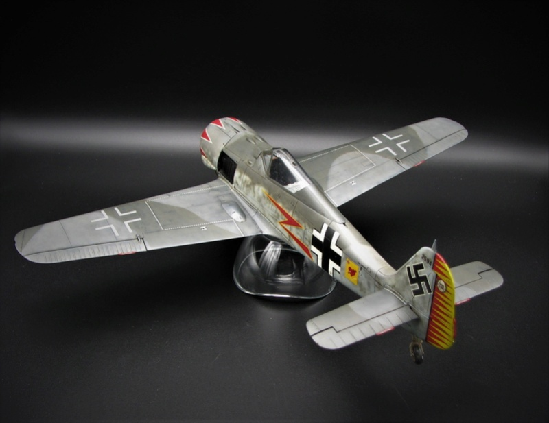 fw 190 A5 hasegawa  au 32.....  fini ...!!!! - Page 2 Img_6427