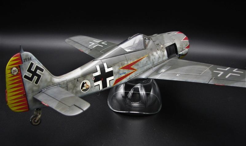 fw 190 A5 hasegawa  au 32.....  fini ...!!!! - Page 2 Img_6428