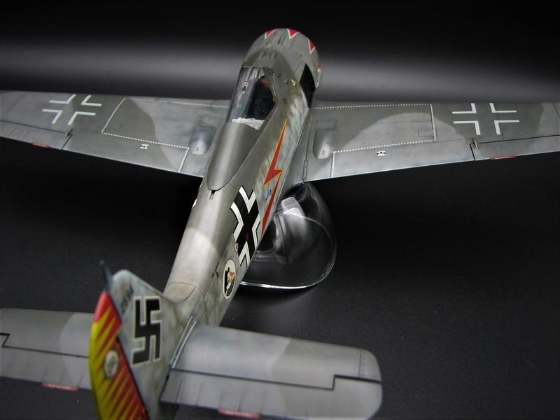 fw 190 A5 hasegawa  au 32.....  fini ...!!!! - Page 2 Img_6429
