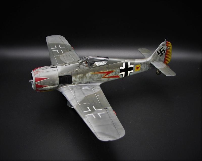 fw 190 A5 hasegawa  au 32.....  fini ...!!!! - Page 2 Img_6431