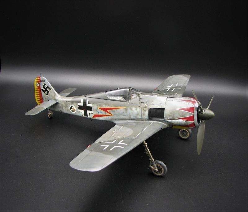 fw 190 A5 hasegawa  au 32.....  fini ...!!!! - Page 3 Img_6469